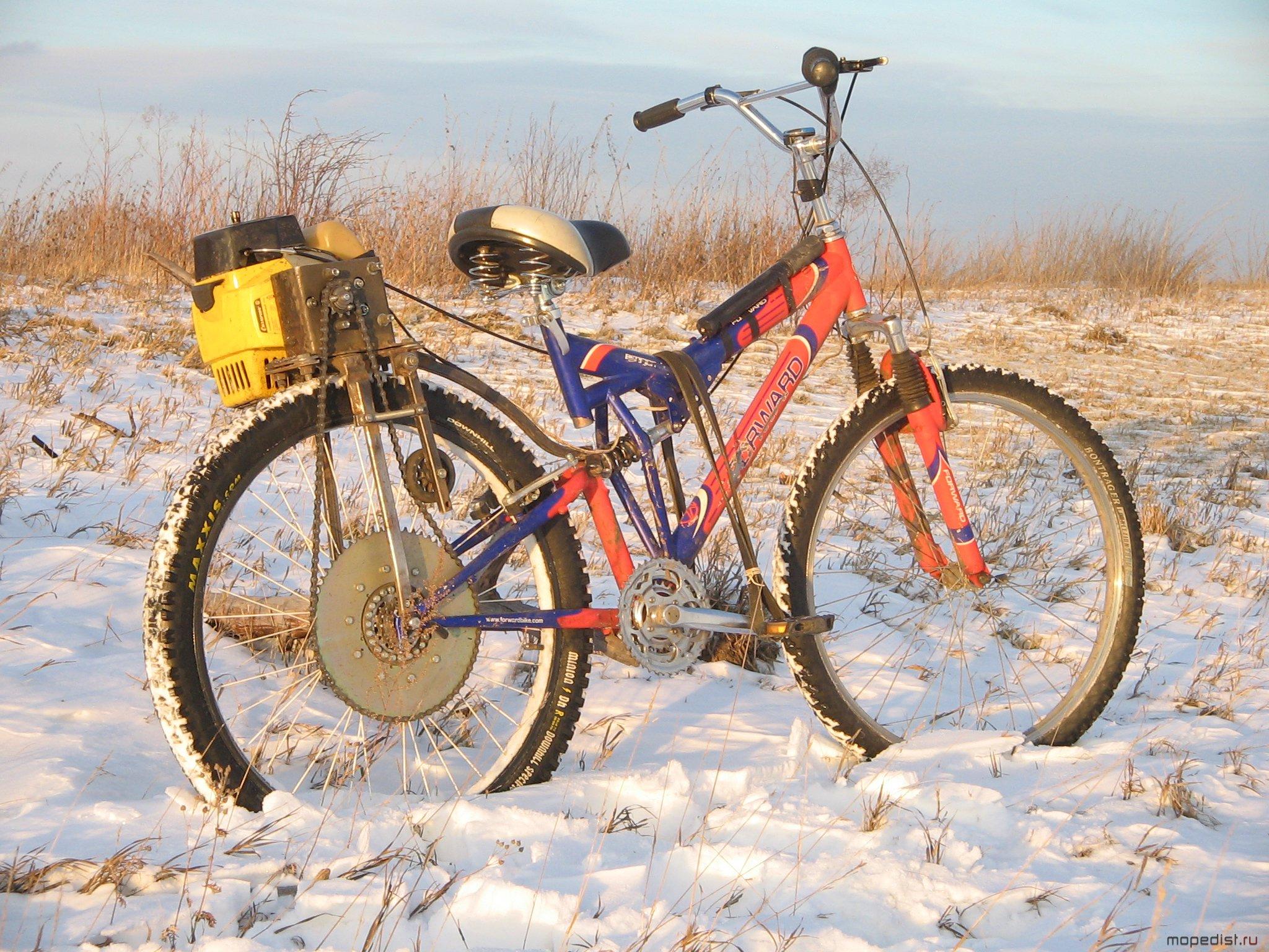 Как сделать велосипед с мотором своими руками: самодельный 30