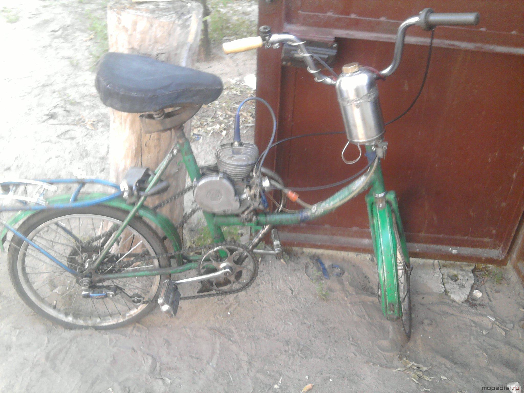 Как сделать велосипед с мотором своими руками: самодельный 98