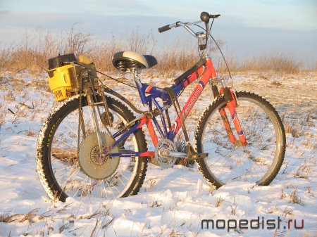 Зимний велосипед своими руками - Полезные самоделки 65