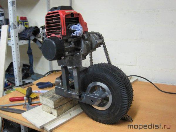 Самокаты с мотором как сделать