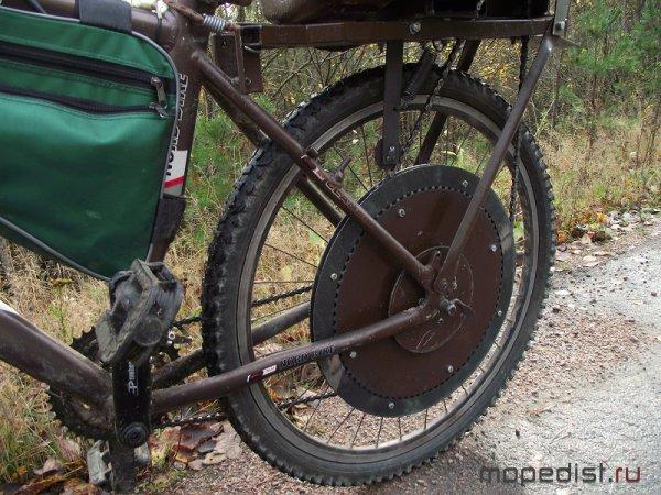 Велосипед звездочка своими руками