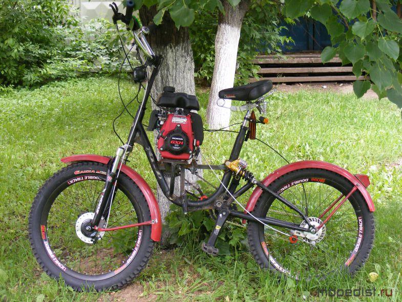 Велосипеды с мотором своими руками 13
