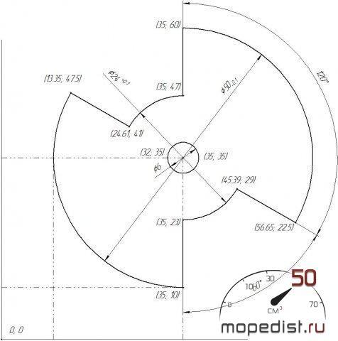 БСЗ (Безконтактная Система Зажигание) на Яву 638.