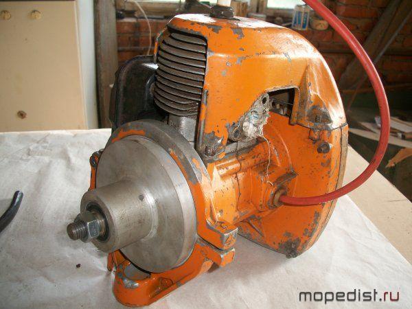 Как сделать двигатель из бензопилы урал