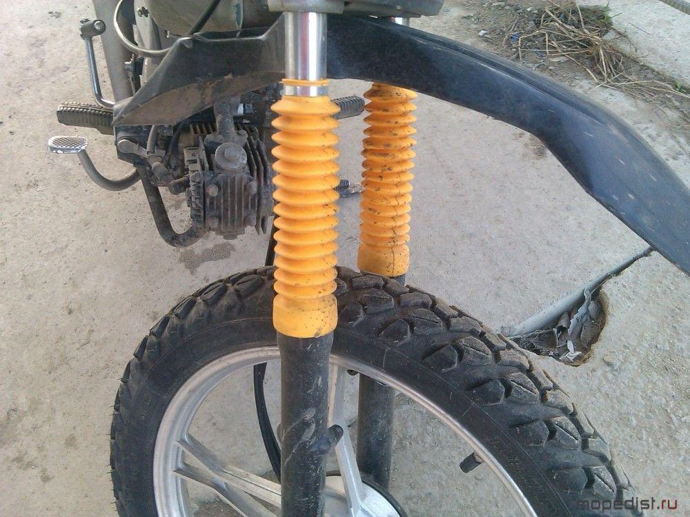 Пыльники для велосипеда своими руками 26