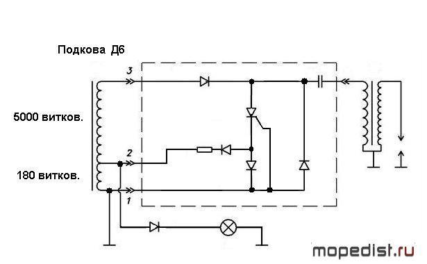 Двигатель f50 схема зажигания