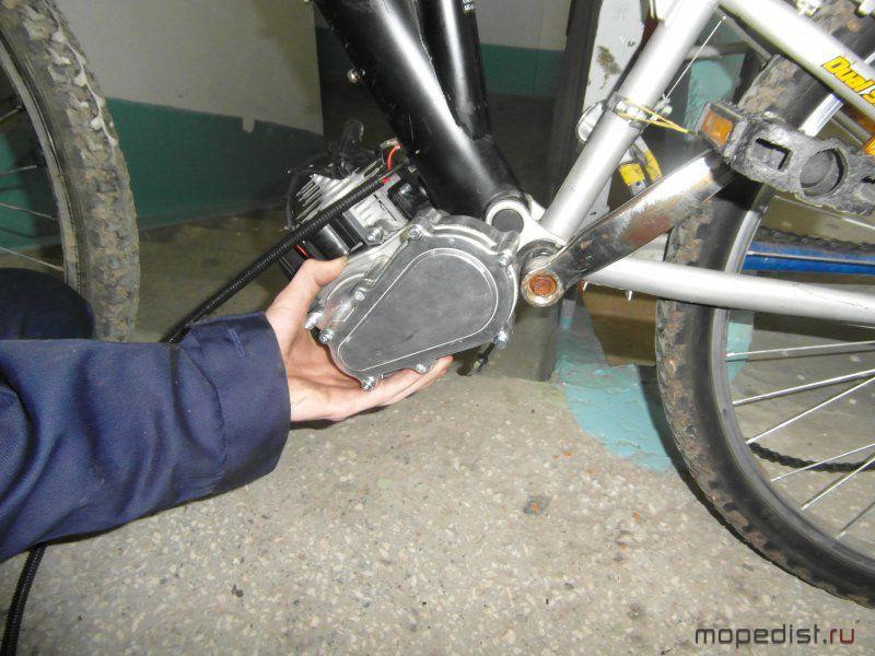 Как своими руками сделать велосипед с двигателем