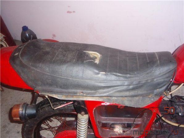 Сидушка скутера своими руками