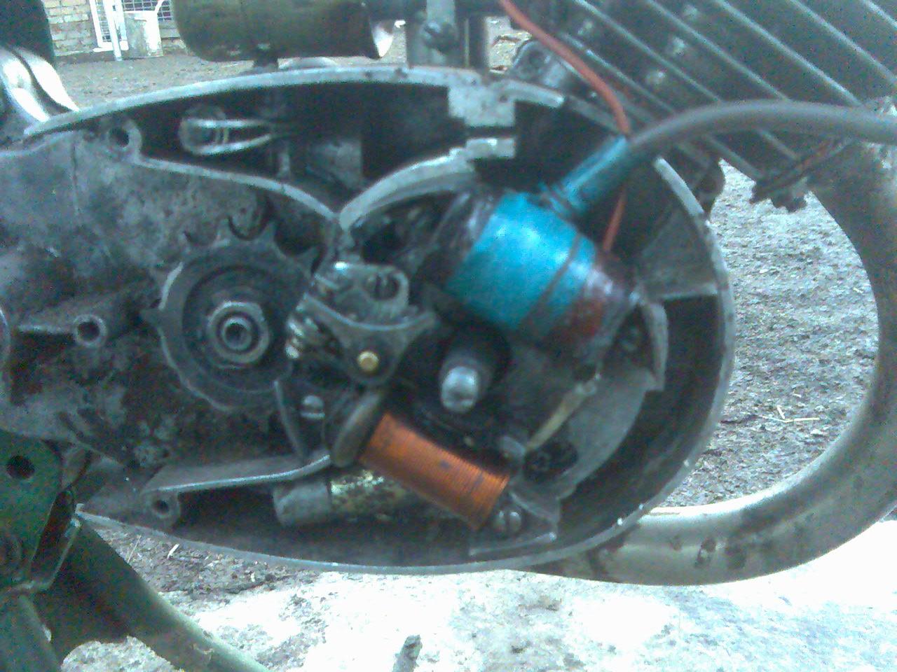 Электро схема зажигание двигателя ш 58